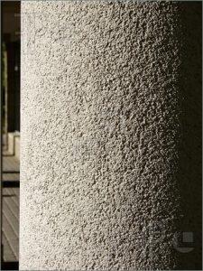 circular concrete columns