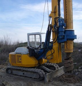 foundation piling site works in lebanon