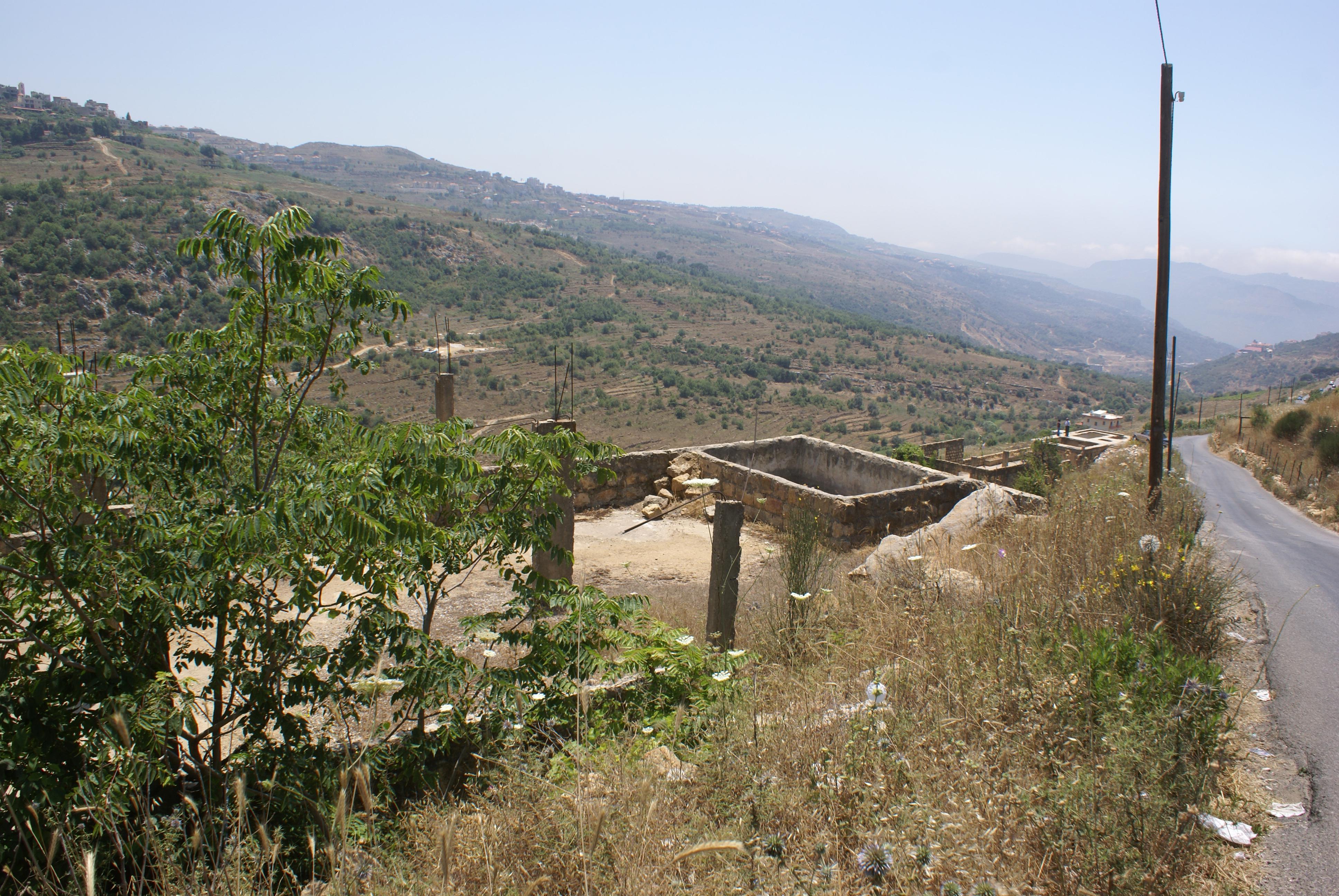 land 4 sale bhamdoun lebanon
