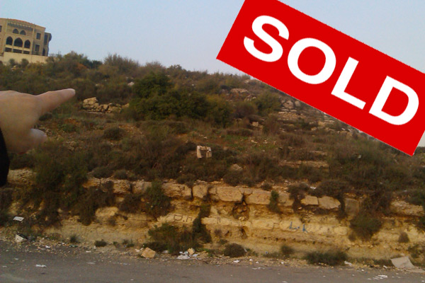 aley lebanon land for sale