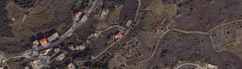 map of rejme lebanon