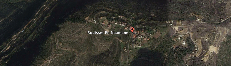 rouisset el naamen map aerial