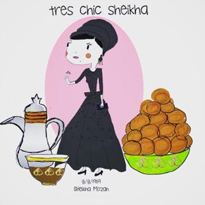sheikha mozah cartoon